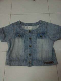 hush pupies denim 5-6 year