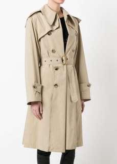 martin margiela unisex trench coat
