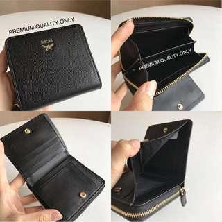 MCM Milla Park Avenue Zip Wallet - black