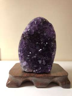 烏拉圭5A紫水晶晶陣