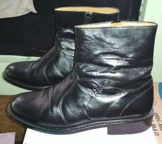 Sepatu Boot Pria 100% Kulit Asli