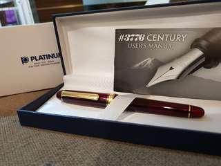 Platinum #3776 Century bourgogne EF