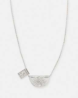 By Charlotte Lotus Little Buddha Short Necklace
