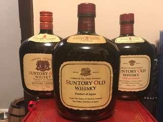 Suntory Old Whisky 一門三傑、特級舊酒、保存良好!