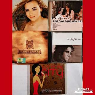 Selected  CDs with Easy & Relaxing Songs by Famous Singers and Good Recording Company. Good Condition. 8pcs CD for $20 Offer. Sms 96337309.
