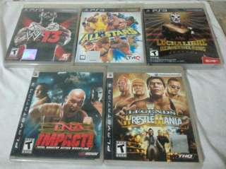 PS3 WRESTLING GAMES