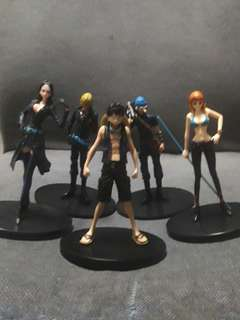 5 member of one piece