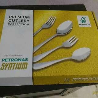 Petronas cutlery spoon set collection