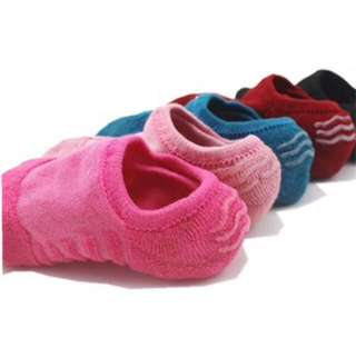 Cotton Footsock with silicon