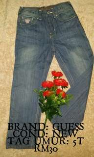 JEANS GUESS 5Y