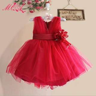 Gown Dress Princess Girl