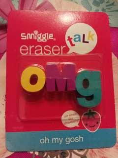 Smiggle Eraser