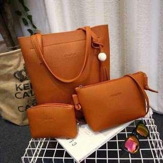 #017 Jingpin Korean Bag 3 in 1