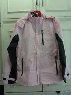 Raincoat female new