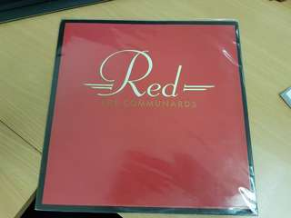 Communards Red Vinyl LP Original Pressing Rare