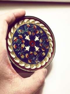銅製鑲嵌杯墊