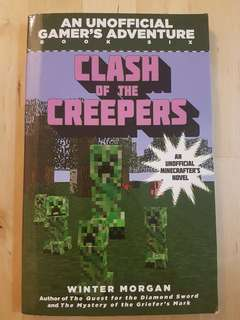 Book - Clash of the Creepers (An Unofficial Minecrafter's Novel) *Preloved, in good condition!*