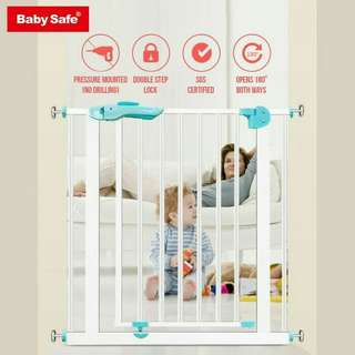 Baby Safe Pressure Fit Safety Gate - Pagar Pengaman Anak
