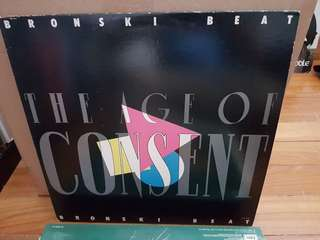 Bronski Beat The Age Of Consent Vinyl LP Original Pressing Rare