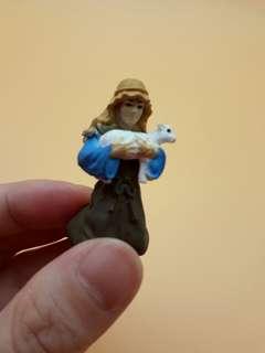 小牧羊人 人物玩具模型