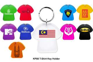 Wholesale T Shirt Key Holder - Plastic