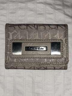 Calvin Klein beige wallet