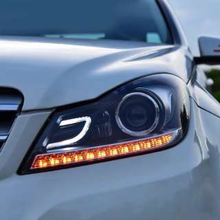 W204 AMG C63 Headlights