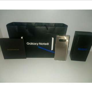 Samsung Note 8 Maple Gold
