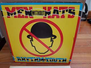Men Without Hats Rhythm Youth Vinyl LP Original Pressing Rare