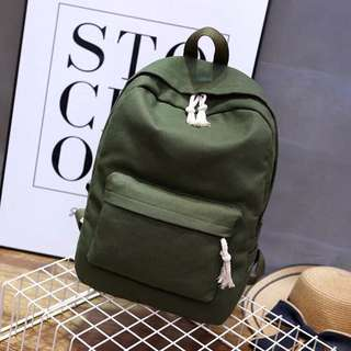 M6019 Navy Green Backpack