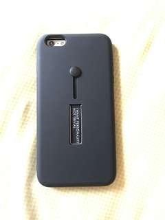 Premium case Iphone 6+/6s plus casing hitam