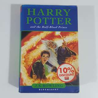 Harry Potter and the Half-Blood Prince by J. K. Rowling [Hardcover] [Original Cover]