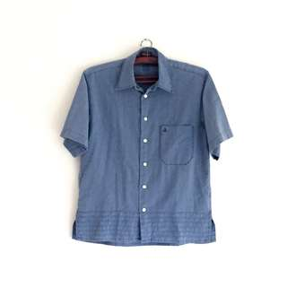 Cotton Jeans Men Shirt | Kemeja jeans