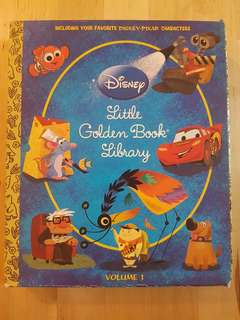 Books - Disney's Little Golden Book Library, Volume 1 (5 titles) *Preloved, in excellent condition!*