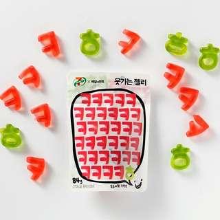 韓國7-11限定 數字軟糖