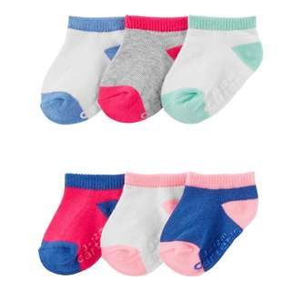 BN 3-12m/12-24m Carters 6pack socks