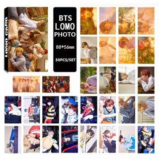 BTS LOMO Photos Set (30 Pieces, random photos) (PRE-ORDER)