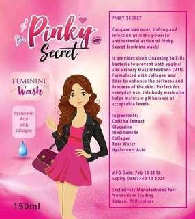 Pinky Secret Feminine Wash