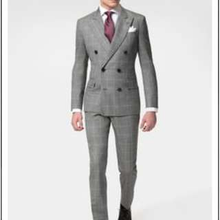 Men's Double Breasted Suits [Code: MDB3]