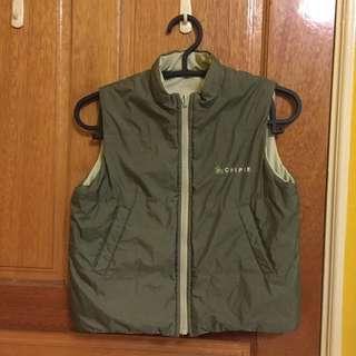 (九成新)Chipie 童裝 夾克 背心 可雙面穿