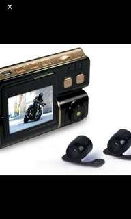 🚚 雙鏡頭機車行車記錄器