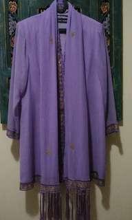 Kebaya trendy soft purple
