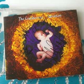Cranberries Autograph Salvation cd single ep