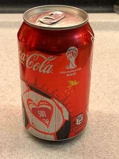 Coca-Cola 可囗可樂 2014 Fifa World Cup Brazil 世界盃 - Swiss瑞士