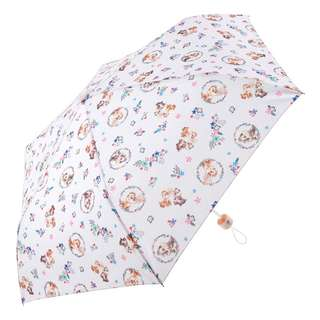 Japan Disneystore Disney Store Folding Umbrella Chip & Dale Forest