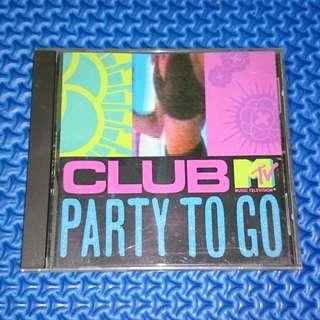 🆒 VA - Club MTV Party To Go Volume One [1991] Audio CD