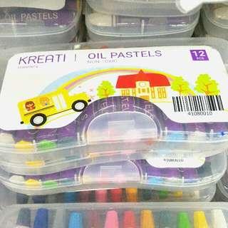 OIL PASTEL Box (12PC)