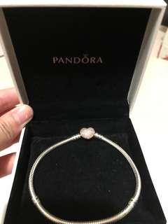 Pandora Bracelet手鏈 玫瑰金