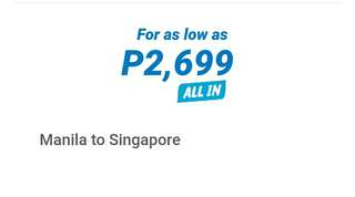 (PROMO) International Airline Tickets