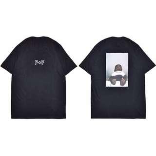 🎀[PO] P + F black baby tee / shirt